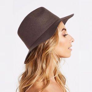 Urban Outfitters x Rhythm Pocket Wool Fedora Hat